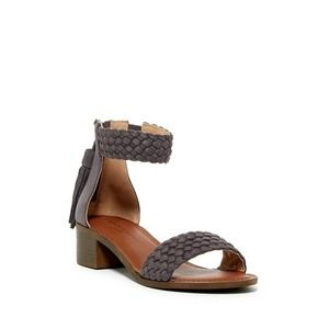 Rock & Candy By Zigi Woven Ankle Strap Sandals